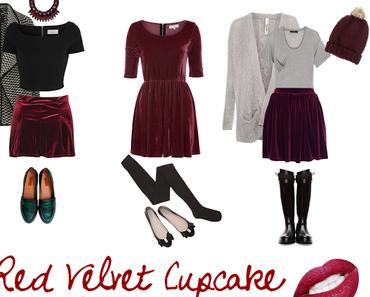 Red Velvet Cupcake - Drei Looks für das Weihnachtsfest
