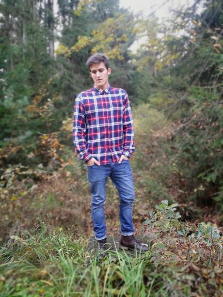 Outfit of the Day: Lumberjack Style