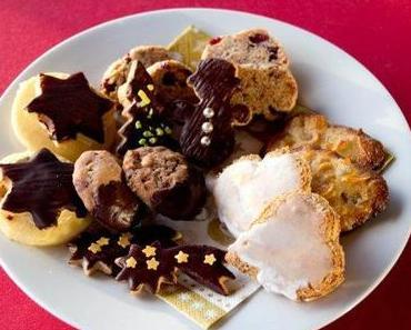 In der Weihnachtsbäckerei: Cranberry-Mandel-Plätzchen, Florentiner und Glühweinsterne