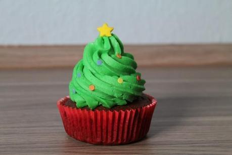 weihnachtsbaum cupcakes walking in a winter bloggerland. Black Bedroom Furniture Sets. Home Design Ideas