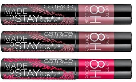 lala berlin loves catrice made to stay smoothing lip polish