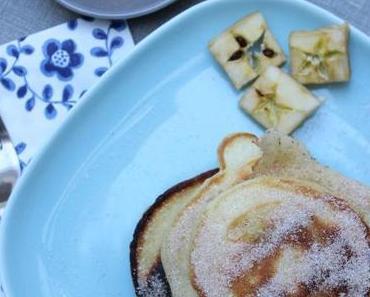 Apfelpfannküchlein mit Zimt und Zucker oder Annas Kindheitserinnerungen werden wach