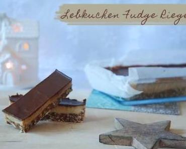 Lebkuchen-Fudge-Riegel