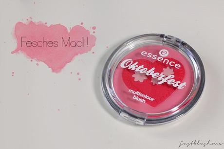 [Review] essence Oktoberfest Multicolor Blush - 01 Fesches Madl!