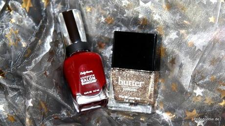 Sally Hansen - Red Zin & Butter London - The 444