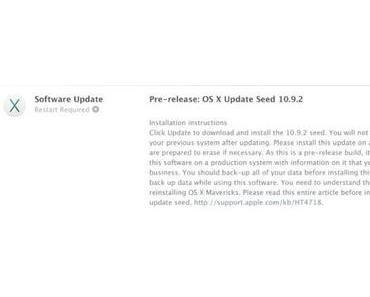 Apple verteilt Test-Build von OSX 10.0.2 an Entwickler
