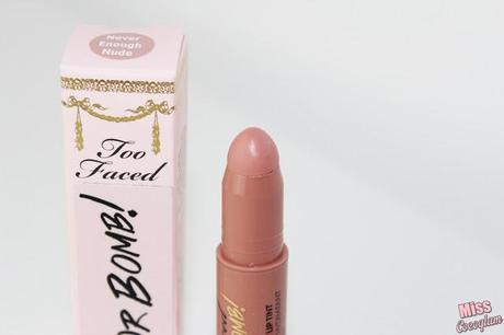 Too Faced Plumping Lip Tint 'Never Enough Nude' *Review*