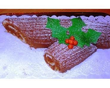 Bûche de Noël (Weihnachtsbaumstamm)