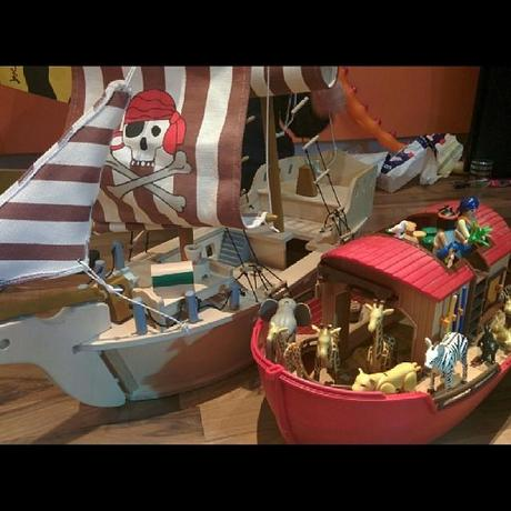 Piratenschiff | Arche Noah