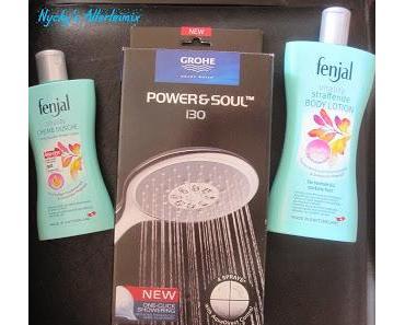 Power&Soul Brause von Grohe - Fenjal Vitality Creme Dusche und Fenjal Vitality straffende Körperlotion