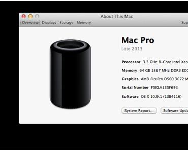 Tausch der CPU im Mac Pro geglückt
