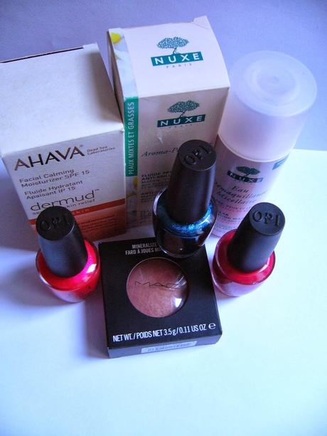 Beauty  HAUL No.1 | MAC, Nuxe, O.P.I., Ahava