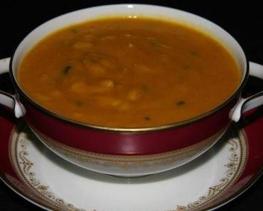 "Silvesternachlese – Sherry with the soup? oder ""Dinner for one"" Mulligatawny Suppe"