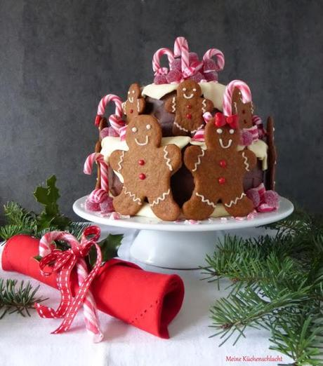 Candy & Gingerbread Winter-Torte