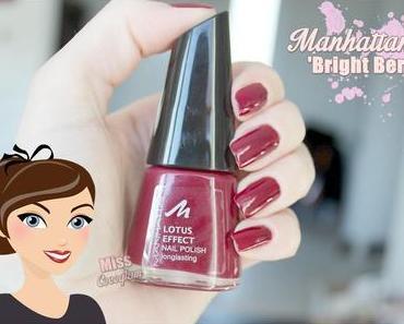 Manhattan 'Bright Berry' Nagellack