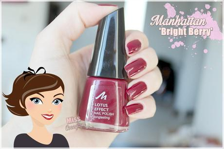 Manhattan 'Bright Berry' Nagellack