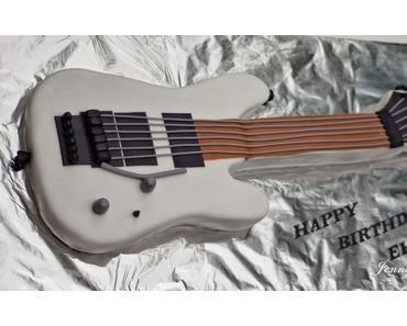 Torte als E-Gitarre