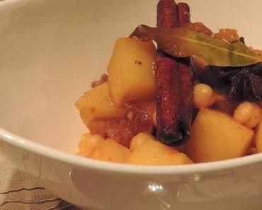 [Vegan] Winterliches Gemüse auf Couscous
