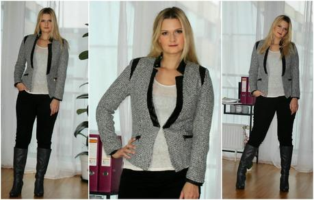{Outfit of the Day} Office Style (Blazer)