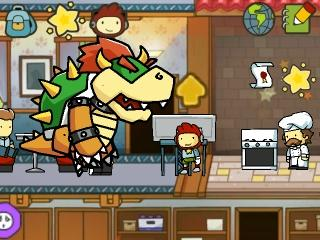 scribblenauts unlimited bowser