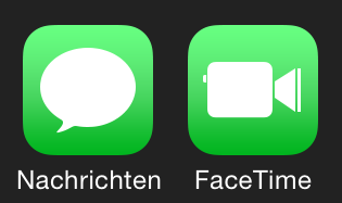 iOS 7.1 Beta 3 Neue Icons