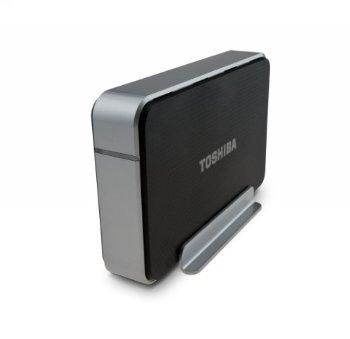Toshiba 2 TB USB 3.0 External Hard Drive PH3200U-1E3S (Black/Silver)