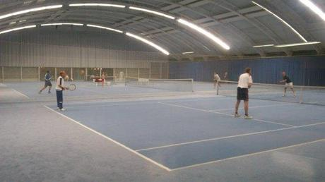 Tennis in Haar