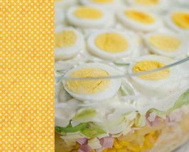 Schnell geschichtet & schön schmackhaft: Schichtsalat