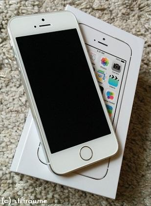 [New in] Apple iPhone 5s silber