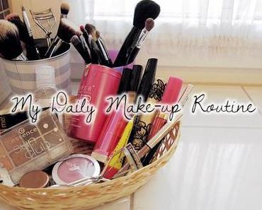 Tägliche Make-up Routine