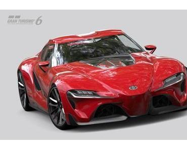 Toyota FT-1 Concept Coupe in Gran Turismo 6 ab Morgen erhältlich