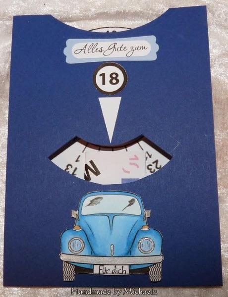 Karte zum 18 geburtstag - 18 geburtstag geschenk basteln ...