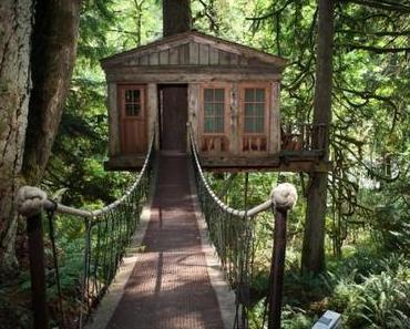 TreeHouse Point: Das Baumhaus nahe Seattle