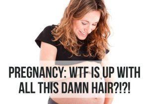 schöne haare in der schwangerschaft
