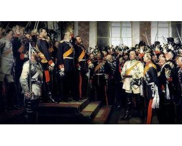18. Jan. 1871: Wilhelm I. wird Deutscher Kaiser