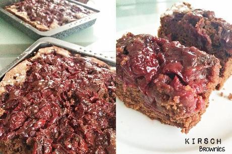 Kirsch-Brownies