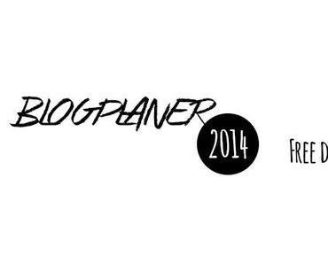 Blogplaner 2014 – mit wertvollen Tipps zum kostenlosen download