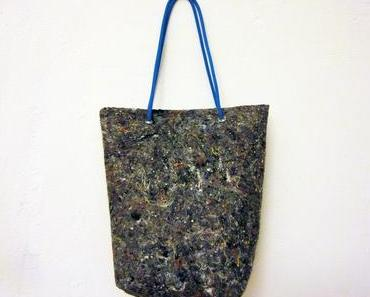 Upcycling: die Tasche aus Malervlies