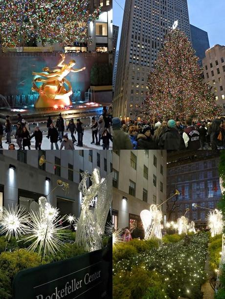 Christmas in New York City + Rockefeller Plaza