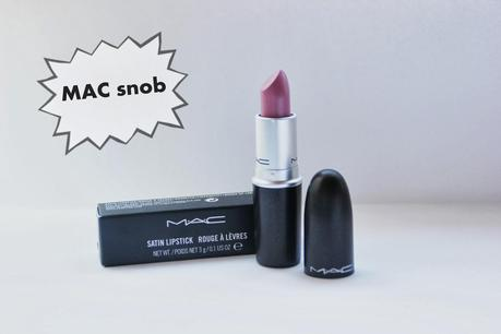 Swatches MAC snob