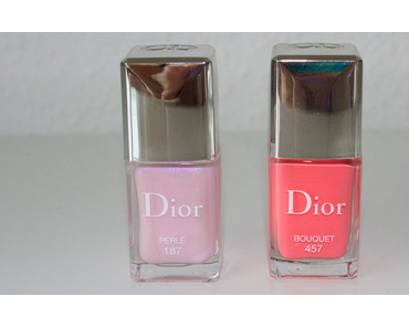 Dior Trianon Spring Look 2014 - Swatches