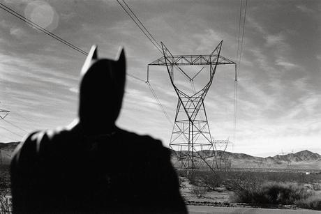 Rémi Noël zeigt Batman auf Texasurlaub
