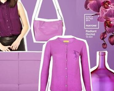 Radiant Orchid - Pantone Farbe des Jahres 2014