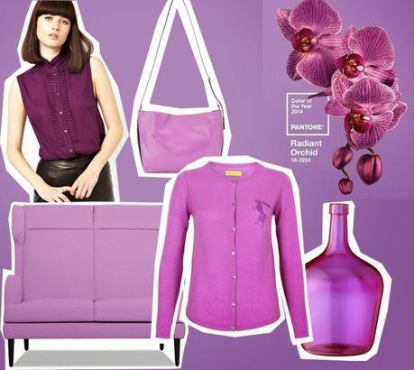 radiant orchid pantone farbe des jahres 2014. Black Bedroom Furniture Sets. Home Design Ideas