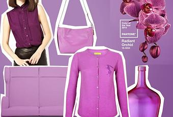 radiant orchid pantone farbe des jahres 2014. Black Bedroom Furniture Sets. Home Design Ideas