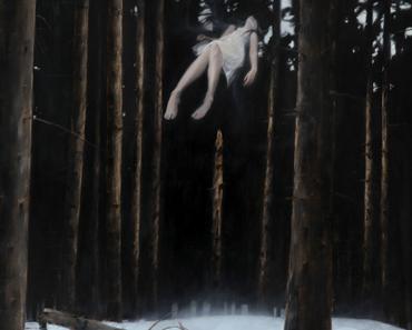 Fühlt sich wie Schweben an: die Gemälde von Henrik Uldalen