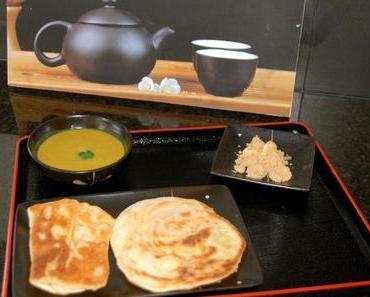 Roti Prata - Indische Frühstückspfannkuchen aus Singapur