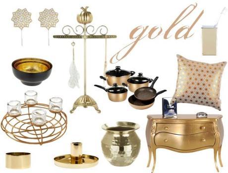 wohnaccessoires in kupfer silber und gold. Black Bedroom Furniture Sets. Home Design Ideas