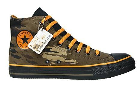 Converse Chucks 1Q096 Camouflage Oliv Limited Edition