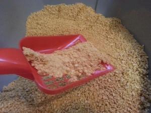 Katzenstreu Test: Boswelia Öko-Katzenstreu aus Maiskörnern